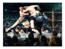 Poster  Stag bei Sharkey - George Wesley Bellows