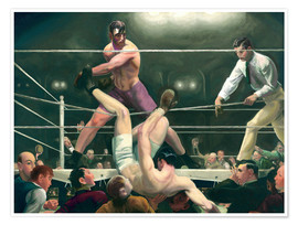 George Wesley Bellows - Dempsey und Firpo