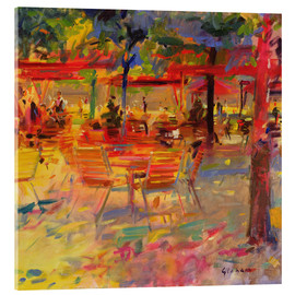 Acrylglas  Lunch on the Terrace - Peter Graham
