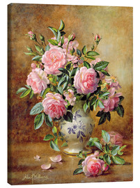 Leinwandbild  Rosa Rosen - Albert Williams