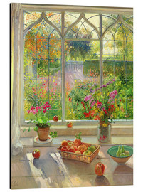 Alubild  Blick in den Garten - Timothy Easton