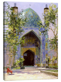 Leinwandbild  Chanbagh Madrasses, Isfahan - Bob Brown