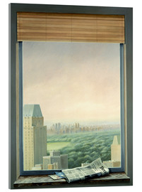 Acrylglasbild  New York Central Park - Lincoln Seligman