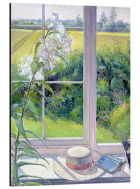 Alu-Dibond  Leseecke im Fenster, Detail - Timothy Easton