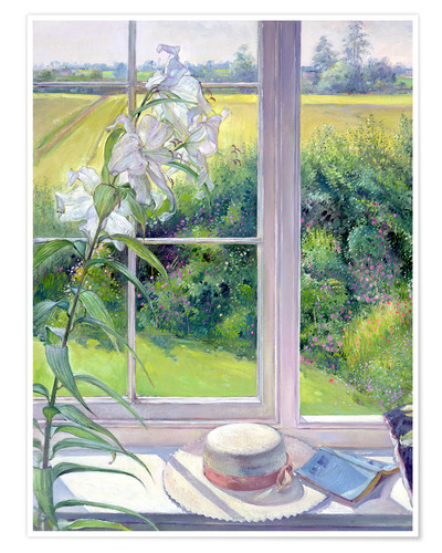 timothy easton leseecke im fenster detail poster online bestellen posterlounge. Black Bedroom Furniture Sets. Home Design Ideas