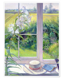 Timothy Easton - Leseecke im Fenster, Detail