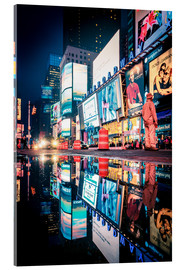 Acrylglasbild  Broadway - Times Square - NEW YORK CITY - Sascha Kilmer
