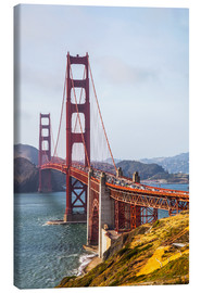 Leinwandbild  Golden Gate Bridge in San Francisco - Leah Bignell