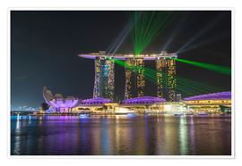 Peter Schickert - Marina Bay Sands Hotel in Singapur