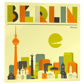 Jazzberry Blue - Berlin Skyline