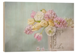 Holzbild  pastell spring - Lizzy Pe