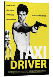Alubild  Taxi Driver Filmplakat - Entertainment Collection
