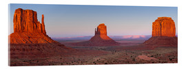 Acrylglasbild  Monument Valley IV - Rainer Mirau