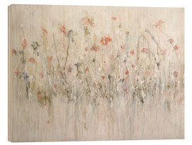 Holzbild  little flower - Christin Lamade