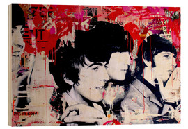 Holzbild  The Beatles - Michiel Folkers