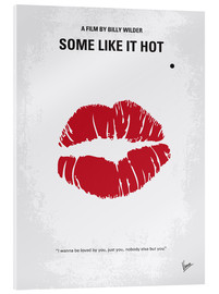chungkong - No116 My SOME LIKE IT HOT minimal movie poster