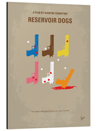 Alu-Dibond  No069 My Reservoir Dogs minimal movie poster - chungkong