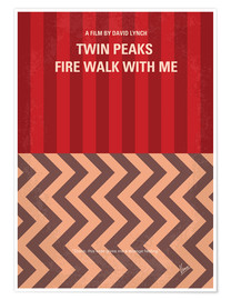 Premium-Poster Twin Peaks - Fire Walk With Me