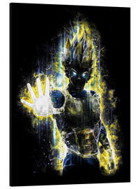 Alu-Dibond  Vegeta Fury - Barrett Biggers