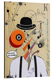 Alu-Dibond  Clockwork orange - Loui Jover