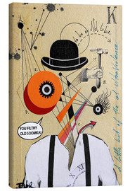 Leinwandbild  Clockwork orange - Loui Jover