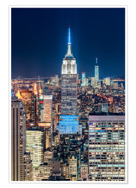 Sascha Kilmer - Empire State Building by Night