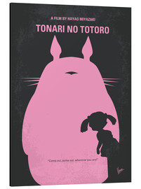 Alubild  No290 My My Neighbor Totoro minimal movie poster - chungkong