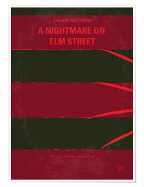 Premium-Poster A Nightmare On Elm Street