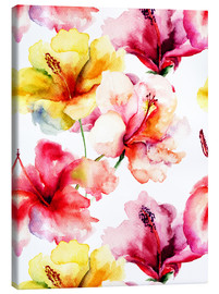 Lilienblüten in Aquarell