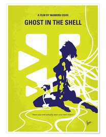 Poster  No366 My Ghost in the Shell minimal movie poster - chungkong