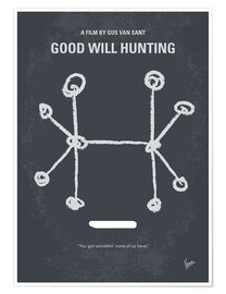 Poster No461 My Good Will Hunting minimal movie poster