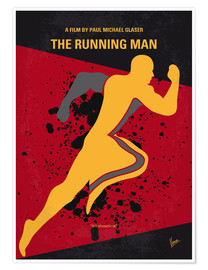 Premium-Poster The Running Man