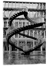 Endloses Stahltreppe in München