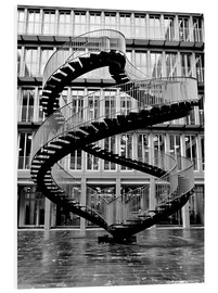 Forex  Endloses Stahltreppe in München