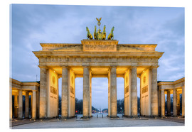 Acrylglasbild  Brandenburger Tor in Berlin - Michael Valjak