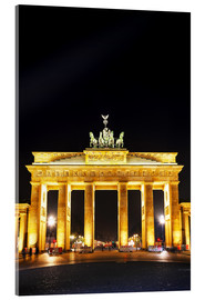 Acrylglasbild  Brandenburger Tor in Berlin