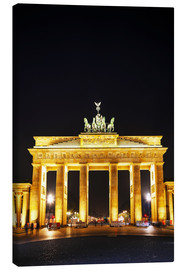 Leinwandbild  Brandenburger Tor in Berlin