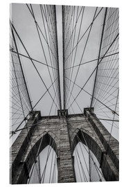 Acrylglasbild  Brooklyn Bridge in New York