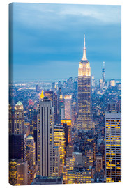 Leinwandbild  Skyline von New York
