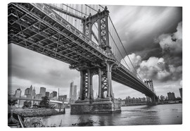 Leinwandbild  Die Manhattan Bridge