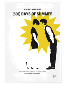 Premium-Poster (500) Days Of Summer