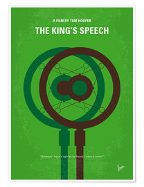 Premium-Poster The King's Speech