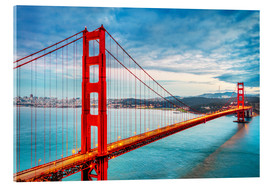 Acrylglasbild  Golden Gate Bridge