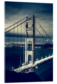 Acrylglasbild  Golden Gate Bridge, San Francisco
