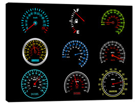 Speedometers for mph Fans