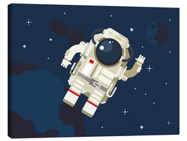 Leinwandbild  Hallo, kleiner Astronaut - Kidz Collection