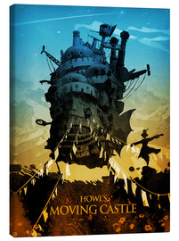 Leinwandbild  Howl's Moving Castle 2  - Albert Cagnef