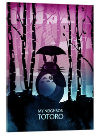 Acrylglas  My Neighbor Totoro - Albert Cagnef
