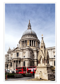 Premium-Poster Kathedrale in London