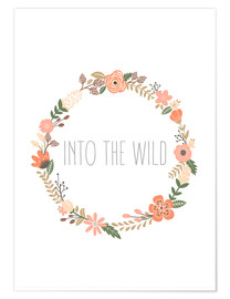 Premium-Poster  Into The Wild - In die Wildnis - Finlay and Noa